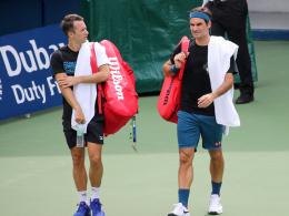 Nach Satzverlust: Federer fertigt Kohlschreiber ab