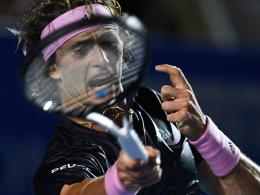 Zverev weiter - Federer braucht noch zwei Siege