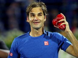 Federer schlägt Coric - Noch ein Sieg bis zum 100. Titel