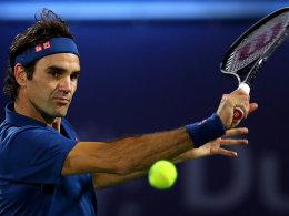 Der Zweite nach Connors: Federer macht die 100 voll!