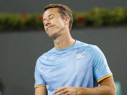 Nach Djokovic-Coup: Kohlschreiber geht gegen Monfils unter