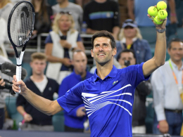 LIVE! Djokovic und Halep brauchen drei Sätze