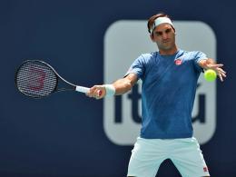 101. Turniersieg: Federer fertigt Isner in Miami ab