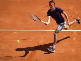 Zverev souverän - Struff verpasst Highlight gegen Nadal