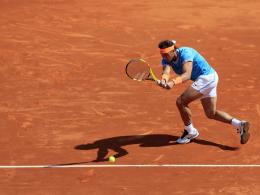 Nadal schlägt Pella - Djokovic scheidet aus