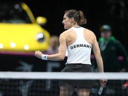 Petkovic und Görges siegen: DTB-Damen führen 2:0