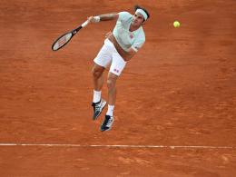 Berg- und Talfahrt: Federers Energieleistung bringt den 1200. Sieg