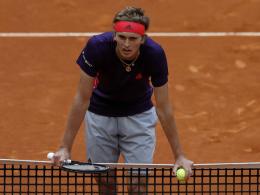 Zverev gescheitert - Federers