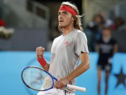 Djokovic ganz eng gegen Thiem, Tsitsipas schlägt Nadal