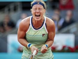 Kiki Bertens triumphiert in Madrid