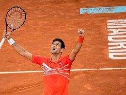 Nummer 74: Djokovic triumphiert in Madrid