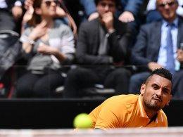Kyrgios verzichtet auf die French Open