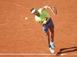 Federers goldene Marke - Nadal trotz Verlust auf Kurs