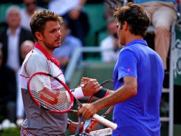 Erinnerungen an 2015: Wiedererstarkter Wawrinka fordert Federer