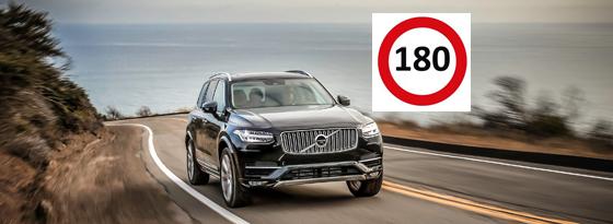 Maximal 180 km/h: Warum bremst sich Volvo ein?