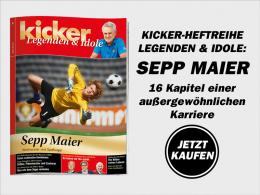 Sepp Maier: Das Sonderheft Legenden & Idole