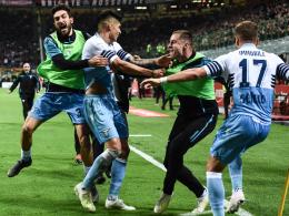 Correas Beinschuss sitzt: Lazio im Pokalfinale