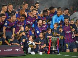 Kleine Rache: Barça schießt sich gegen Levante zum Meister