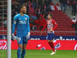 Atletico besiegt Valencia - und lässt Barça warten