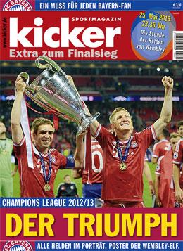 Sonderheft Champions League 2013