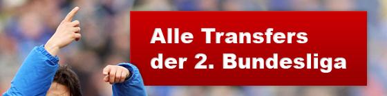 Alle Transfers der 2. Bundesliga