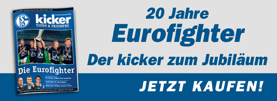 kicker-Sonderheft Typen und Triumphe Eurofighter Schalke 04