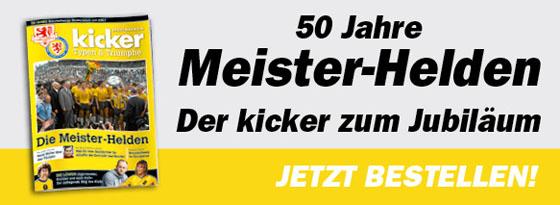 kicker-Sonderheft Typen und Triumphe Meister-Helden Eintracht Braunschweig