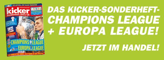 Sonderheft Champions League 2016/17
