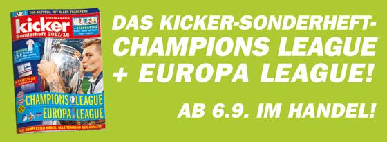 Sonderheft Champions League 2017/18