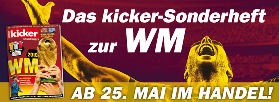 kicker WM 2018 Sonderheft
