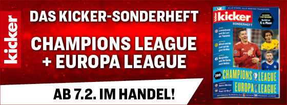 Sonderheft Champions League und Europa League 2018/19