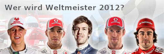 Wer wird Weltmeister 2012 - Sie entscheiden