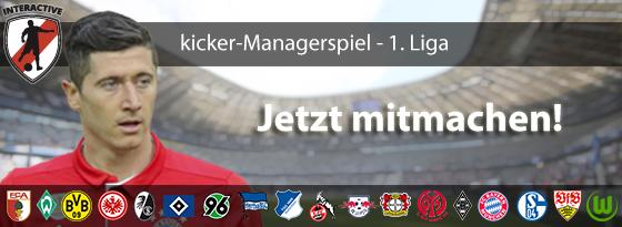 Das Original: Das Bundesliga-Managerspiel des kicker
