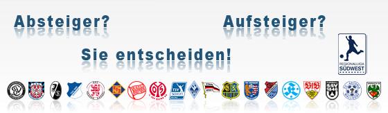Tabellenrechner Regionalliga Südwest