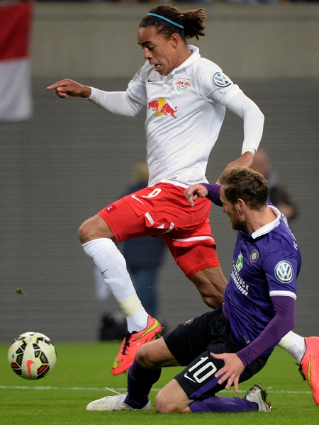 RB Leipzig - Erzgebirge Aue 3:1 n.V.